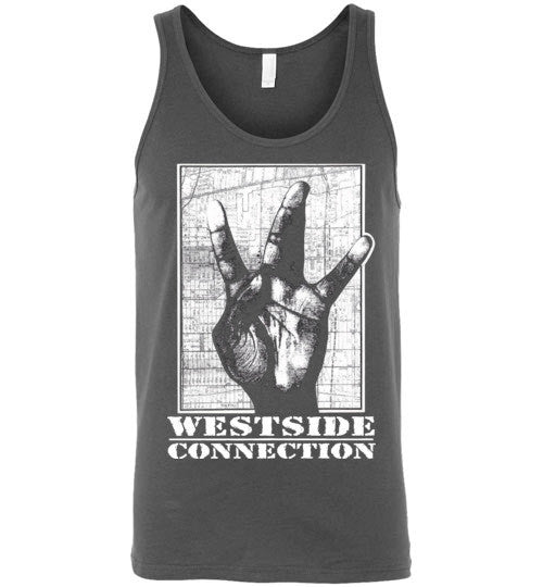 Westside Connection, Ice Cube , WC, Mack 10, West Coast Hip Hop, Gangsta Rap , Bow Down,Los Angeles, Canvas Unisex Tank