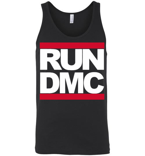 RUN DMC Hip Hop , v1b, Canvas Unisex Tank