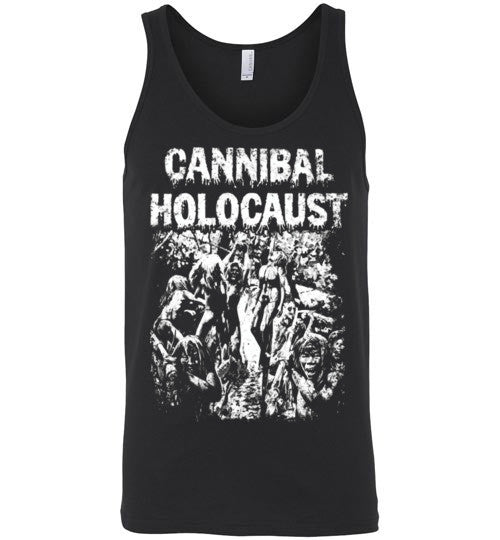 Cannibal Holocaust Ruggero Deodato Horror Zombies Movie ,v6, Canvas Unisex Tank
