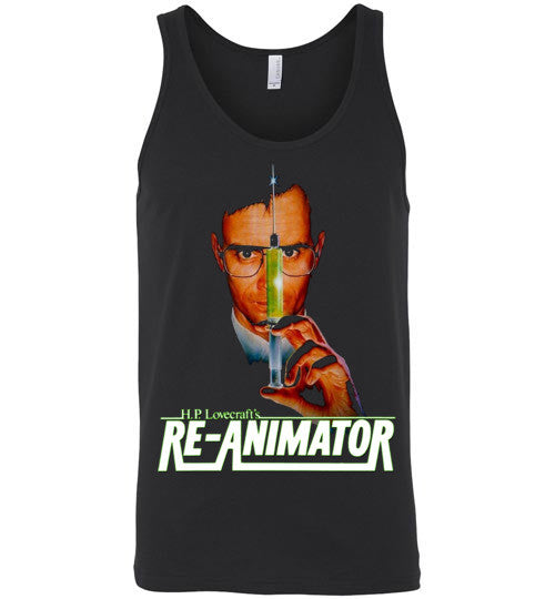 Re-animator H. P. Lovecraft , Canvas Unisex Tank , v3