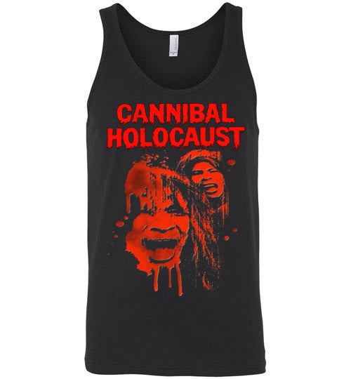 Cannibal Holocaust Ruggero Deodato Horror Zombies Movie, v1, Canvas Unisex Tank