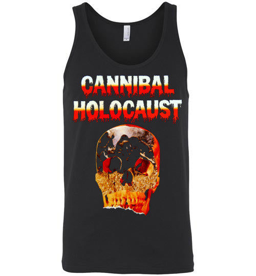 Cannibal Holocaust Ruggero Deodato Horror Zombies Movie ,v5, Canvas Unisex Tank