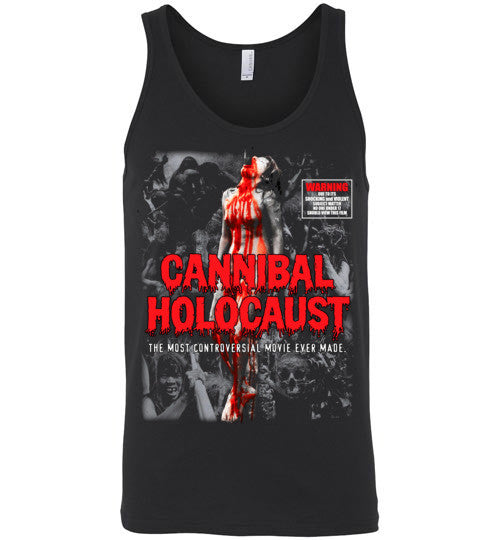 Cannibal Holocaust Ruggero Deodato Horror Zombies Movie, v4, Canvas Unisex Tank