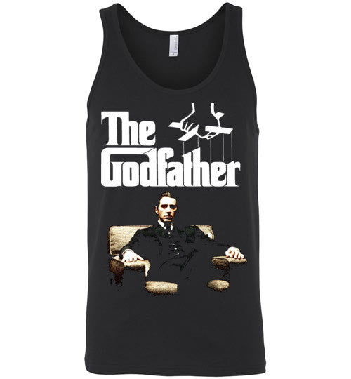 The Godfather Michael Corleone Mafia Al Pacino v3a , Canvas Unisex Tank