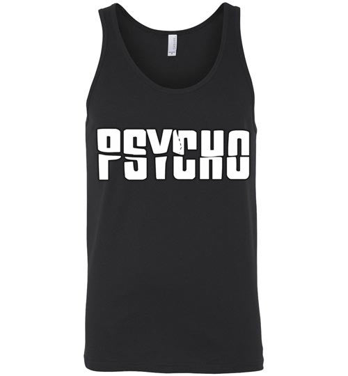 Psycho Alfred Hitchcock Norman Bates v6  Canvas Unisex Tank