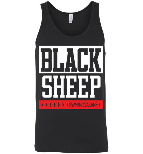Black Sheep Classic Hip Hop , Canvas Unisex Tank