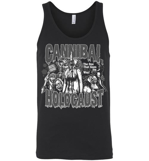 Cannibal Holocaust Ruggero Deodato Horror Zombies Movie , v2, Canvas Unisex Tank