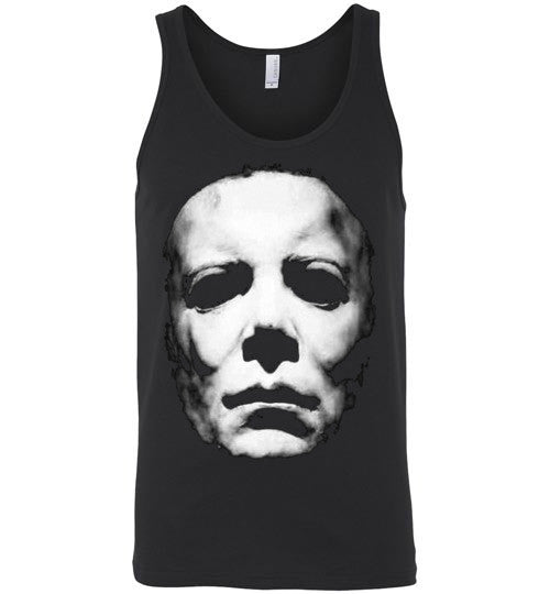 HALLOWEEN MICHAEL MYERS John Carpenter v2, Canvas Unisex Tank