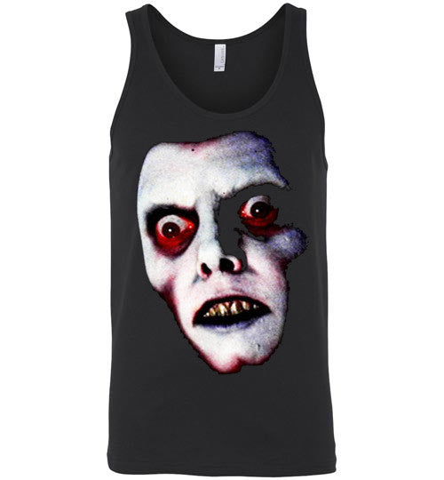 The Exorcist Captain Howdy Pazuzu Classic Horror Movie Occult Supernatural Demons Satan v1, Canvas Unisex Tank