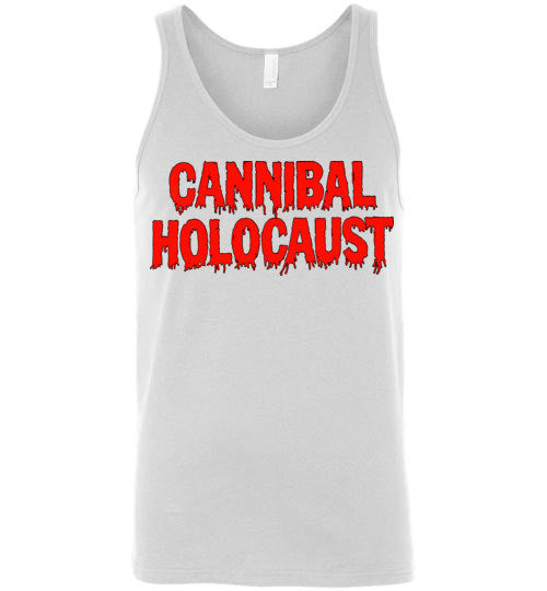 Cannibal Holocaust Ruggero Deodato Horror Zombies Movie , v3, Canvas Unisex Tank