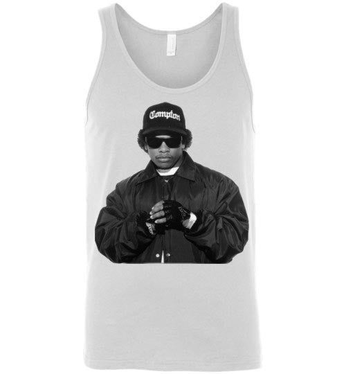 Eazy-E NWA Ruthless Records Eazy E Gangster Rap Hip Hop ,v1b, Canvas Unisex Tank