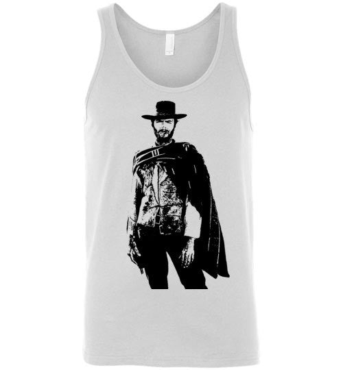 Clint Eastwood - The Man with No Name , v1 , Canvas Unisex Tank