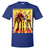 Class of 1984 action crime thriller movie v1, Hanes Nano-T T-Shirt