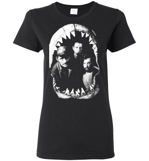 JAWS Movie Rare Vintage Style , Gildan Ladies T-Shirt