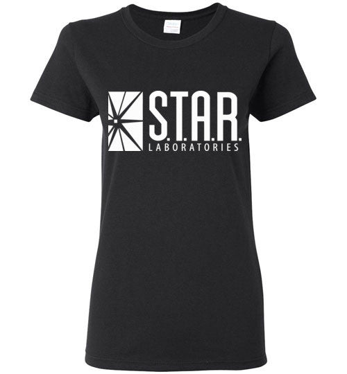 Star Laboratories , Star Labs , The Flash , Gildan Ladies T-Shirt