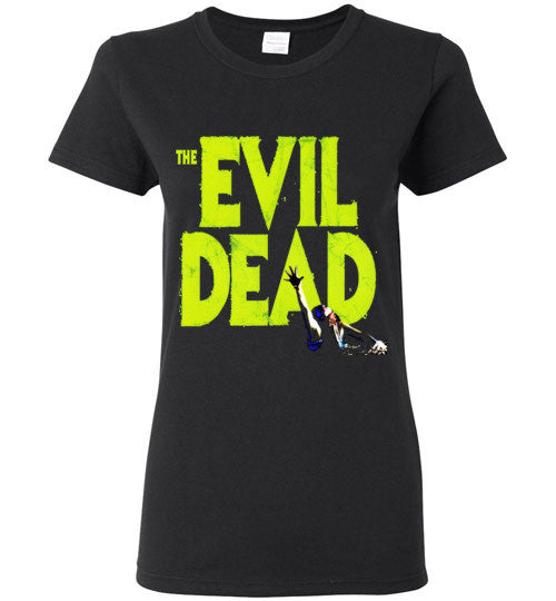 Evil Dead Army Of Darkness Horror Zombies Movie v1, Gildan Ladies T-Shirt