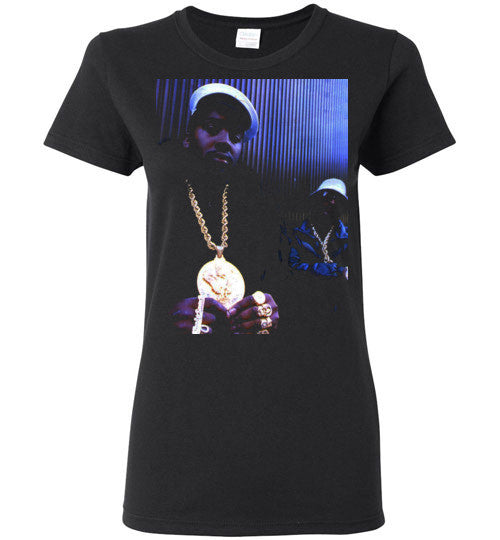 Eric B & Rakim New York Classic Hip Hop Rap , v3,  Gildan Ladies T-Shirt