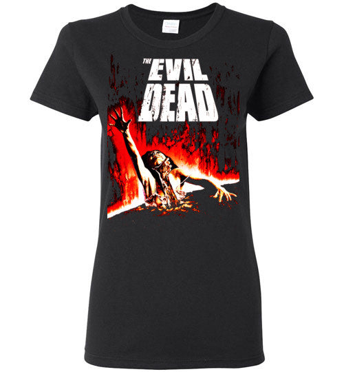 Evil Dead Army Of Darkness Horror Zombies Movie ,v2, Gildan Ladies T-Shirt