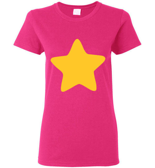 Steven Universe Star Cosplay , Gildan Ladies T-Shirt