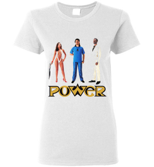 Ice-T Power Classic Hip Hop , Gildan Ladies T-Shirt