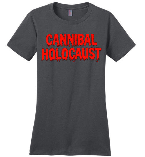 Cannibal Holocaust Ruggero Deodato Horror Zombies Movie , v3, District Made Ladies Perfect Weight Tee