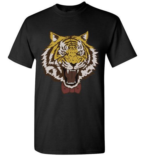 Yuri Plisetsky Tiger with bowtie as shown in show , Gildan Short-Sleeve T-Shirt