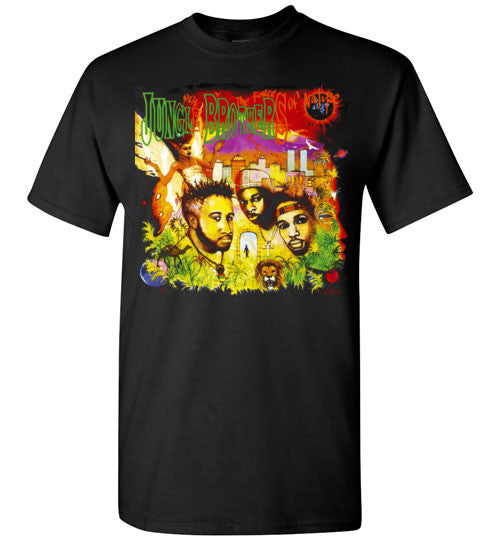 Jungle Brothers,Done By the Forces of Nature, Native Tongues,Classic Hip Hop, 1989,New York, Gildan Short-Sleeve T-Shirt