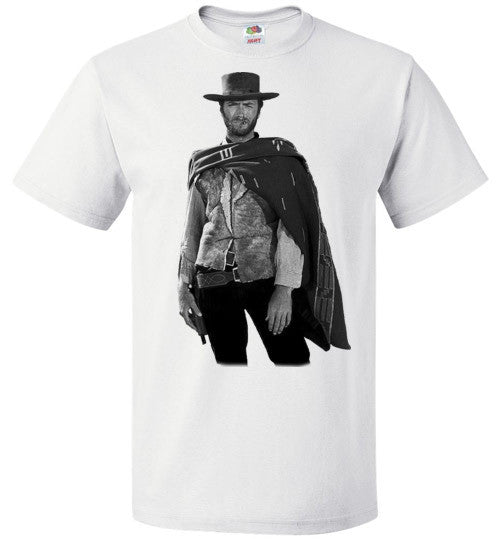 Clint Eastwood - The Man with No Name Spaghetti Western Sergio Leone The Good, the Bad and the Ugly ,v3, FOL Classic Unisex T-Shirt