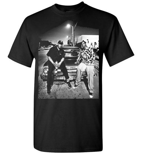 Snoop Dogg & Dr Dre , Hip Hop Gangsta Rap G-Funk ,v7, Gildan Short-Sleeve T-Shirt