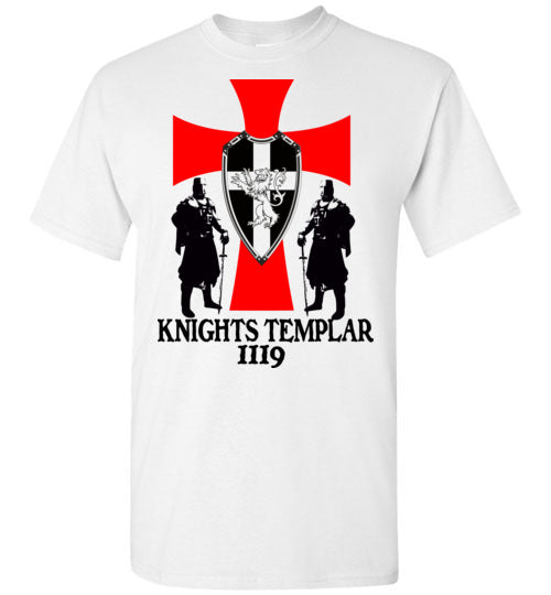 Knights Templar Cross Crest 1119, v32,T Shirt