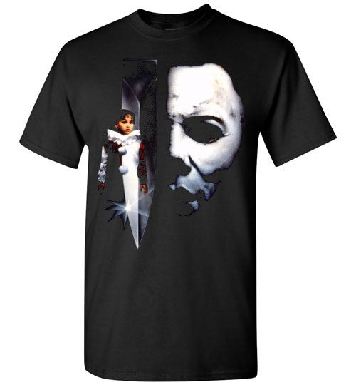 HALLOWEEN MICHAEL MYERS John Carpenter Classic Horror Movie v5 , Gildan Short-Sleeve T-Shirt