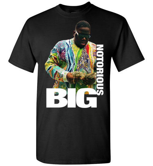 Notorious BIG Biggie Smalls Big Poppa Frank White Christopher Wallace,Bad Boy Records, Hip Hop New York Brooklyn,v8b, Gildan Short-Sleeve T-Shirt