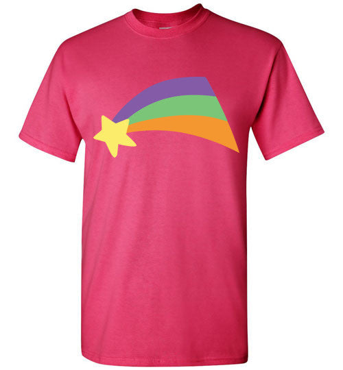 Mabel Pines Shooting Star Rainbow Gravity Falls Cosplay  Gildan Short-Sleeve T-Shirt