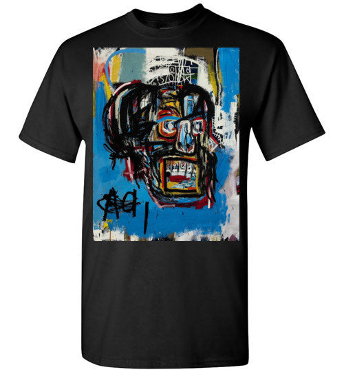 Jean Michel Basquiat Artist Graffiti  Gildan Short-Sleeve T-Shirt v1