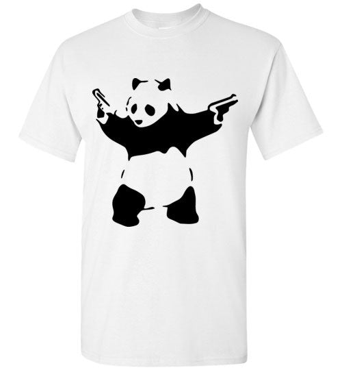 Banksy Panda Guns , Gildan Short-Sleeve T-Shirt