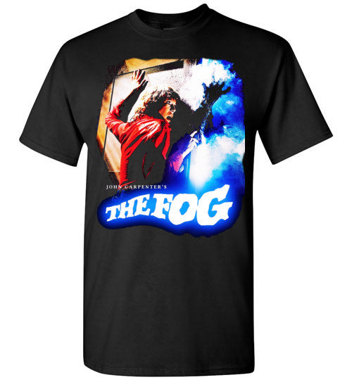 The Fog Horror Movie John Carpenter Vintage Rare 1980 Cult Film, zombie movie,Jamie Lee Curtis,v1, Gildan Short-Sleeve T-Shirt