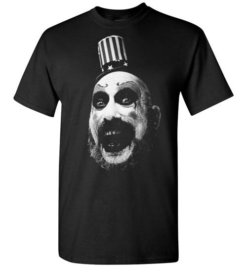 House of 1000 Corpses, Rob Zombie,Captain Spaulding, Classic Horror Film,v1,Gildan Short-Sleeve T-Shirt