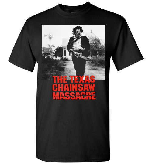 The Texas Chain Saw Massacre,1974 horror film,Leatherface,Ed Gein, slasher,v3,Gildan Short-Sleeve T-Shirt