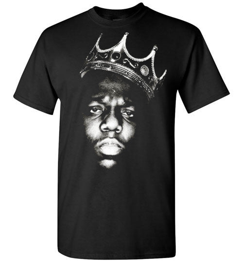Notorious BIG Biggie Smalls Big Poppa Frank White Christopher Wallace,Bad Boy Records, Hip Hop New York Brooklyn,v1,Gildan Short-Sleeve T-Shirt