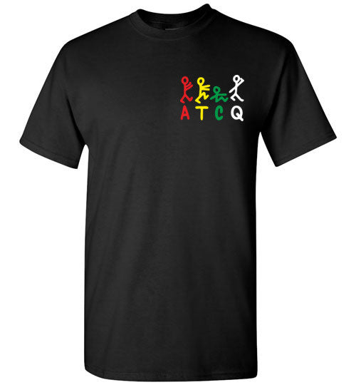 ATCQ A Tribe called Quest Classic Hip Hop New York City Low End Theory Phife Dawg Q-tip ,v8a, Gildan Short-Sleeve T-Shirt
