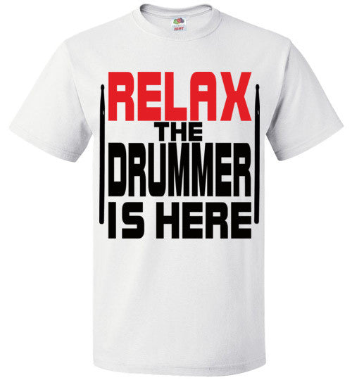 Relax The Drummer Is Here v2 , FOL Classic Unisex T-Shirt
