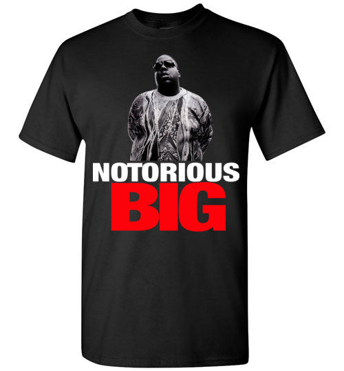 Notorious BIG Biggie Smalls Big Poppa Frank White Christopher Wallace,Bad Boy Records, Hip Hop New York Brooklyn,v10, Gildan Short-Sleeve T-Shirt