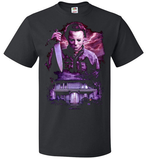 HALLOWEEN MICHAEL MYERS John Carpenter Classic Horror Movie v6, FOL Classic Unisex T-Shirt
