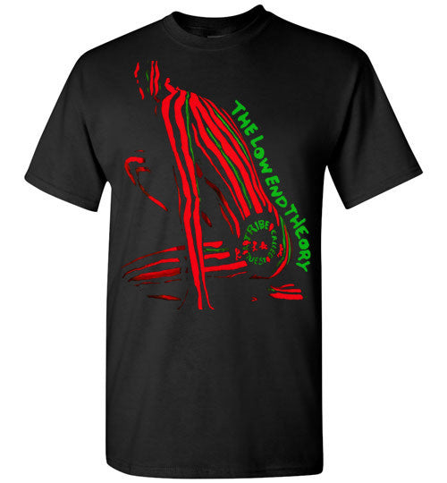 ATCQ A Tribe called Quest Classic Hip Hop New York City Low End Theory Phife Dawg Q-tip , v2, Gildan Short-Sleeve T-Shirt