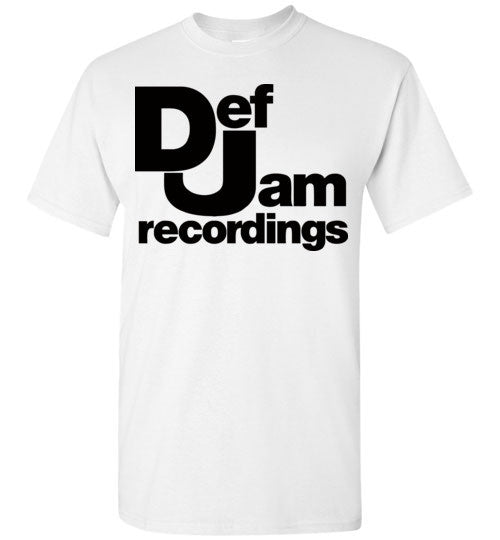 Def Jam Recordings Classic Hip Hop Run Dmc Beastie Boys Public Enemy Kanye West Rick Ross ,v2, Gildan Short-Sleeve T-Shirt