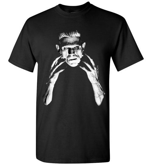 Frankenstein Movie Boris Karloff 1931   Gildan Short-Sleeve T-Shirt Black