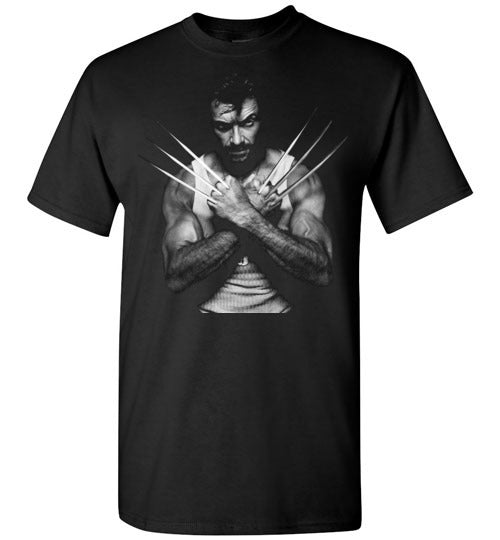 Logan Wolverine Xmen Marvel Super Hero ,v4,Gildan Short-Sleeve T-Shirt
