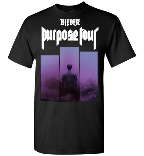 Justin Bieber Purpose Tour 2017 ,v1, Gildan Short-Sleeve T-Shirt