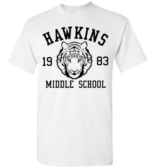 Stranger Things Hawkins Middle School 1983 , v1, Gildan Short-Sleeve T-Shirt