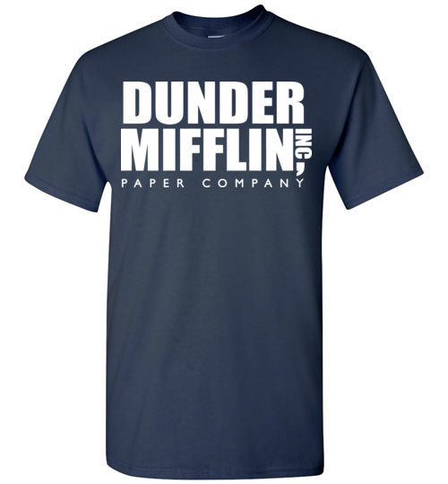 Dunder Mifflin Inc Paper Company The Office TV Show, Gildan Short-Sleeve T-Shirt